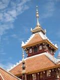 Wierzchołek świątynia dach Zdjęcie Royalty Free
