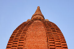 Wierzchołek świątynia w Bagan, Myanmar Obraz Royalty Free