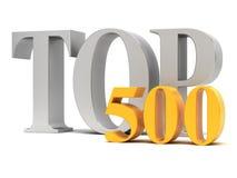 Wierzchołek 500 royalty ilustracja