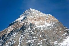 Wierzchołek góra Everest od Kala Patthat zdjęcia stock