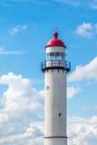 Wierzchołek latarnia morska, holandie Fotografia Royalty Free