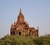 Wierzchołek Południowa Guni świątynia w Bagan, Myanmar Fotografia Stock