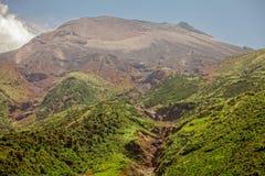 Wierzchołek Tungurahua wulkan, Ameryka Południowa Zdjęcia Royalty Free