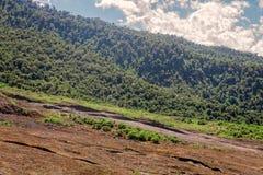 Wierzchołek Tungurahua wulkan, Ameryka Południowa Zdjęcia Stock