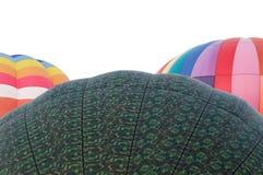 Wierzchołki trzy gorące powietrze balonu zdjęcie royalty free