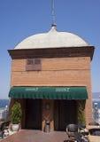 Wierzchołek Asansor, winda budynek w Izmir Zdjęcie Stock