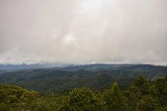 Wierzchołek góra Fotografia Royalty Free