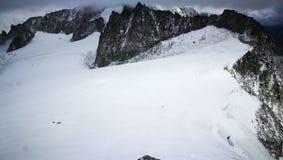 Wierzchołek góra Blanc Obrazy Royalty Free