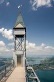 Wierzchołek Hammetschwand winda blisko Luzern Obrazy Royalty Free