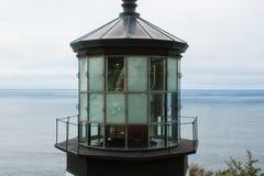 Wierzchołek latarnia morska Fotografia Stock