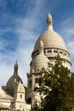 Wierzchołek Sacre-Coeur fotografia stock