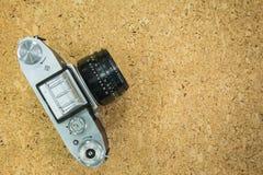 Wierzchołek stara kamera Obrazy Stock