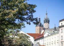 Wierzchołek Stary miasto fotografia royalty free