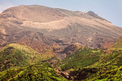 Wierzchołek Tungurahua wulkan, Aktywny wulkan Fotografia Royalty Free