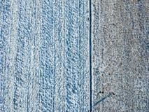 Wierzchołka puszka widok zimy pole Obrazy Stock