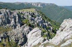 Wierzchołki góry Zdjęcia Royalty Free