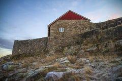 Wierzchu rockowy fort Fotografia Royalty Free