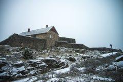 Wierzchu rockowy fort Obraz Royalty Free