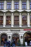 Wierzynek Restaurant in Cracow Stock Images