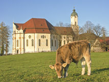 Wies Church in Upper Bavaria Stock Images