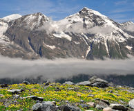 Wiesbachhorn. In National Park Hohe Tauern, Austria Stock Image