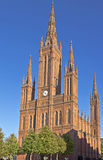 Wiesbaden Cathedral Royalty Free Stock Photography