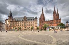 Wiesbaden, Deutschland stockfoto