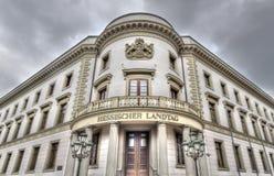 Wiesbaden Hessischer Landtag zdjęcie stock