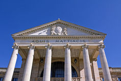 Wiesbaden Kurhaus Royalty Free Stock Photography