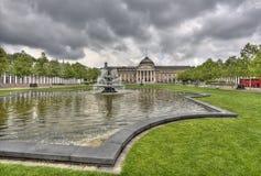 Wiesbaden Kurhaus Stock Images