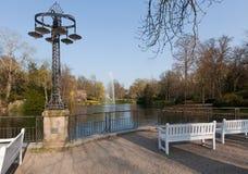Wiesbaden Kurpark Stock Images