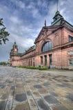 Wiesbaden stacja kolejowa zdjęcia stock