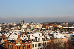 Wiesbaden in winter Royalty Free Stock Images