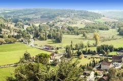 Wiesen Aquitaine France Stockfotografie