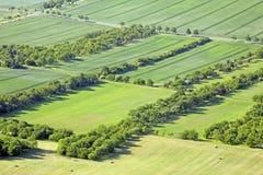 Wiesen und Felder Lizenzfreie Stockbilder