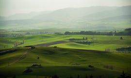 Wiesen und Felder Stockbilder