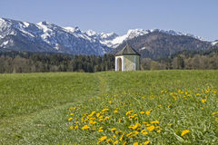 Wiesenkapelle Lizenzfreies Stockfoto