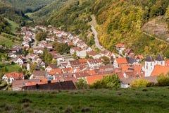 Wiesensteig Baden-Wurttemberg, Alemanha Fotografia de Stock Royalty Free