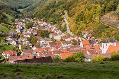 Wiesensteig Baden-Wurttemberg, Germany Royalty Free Stock Photography