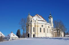 Wieskirche Stock Photo