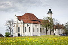 Wieskirche in Bavaria Germany Royalty Free Stock Image