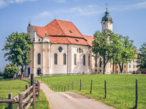 Wieskirche in Bavaria Germany Stock Photography