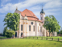Wieskirche in Bavaria Germany Royalty Free Stock Photos