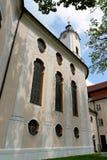 Wieskirche kyrktar, Steingaden i Bayern, Tyskland Fotografering för Bildbyråer