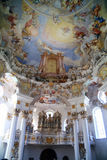 The Wieskirche pilgrimage church Germany Stock Images