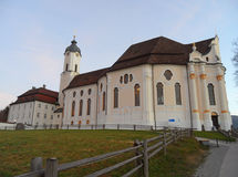 The Wieskirche or Pilgrimage Church of the Scourged Saviour in Bavaria, Stock Photography