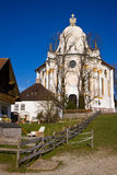 Wieskirche sancturary Royalty Free Stock Photos