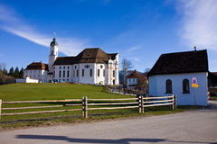 Wieskirche sancturary Royalty Free Stock Photo