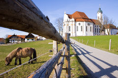 Wieskirche sancturary Stock Images