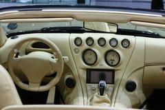 wiesmann roadster кокпита mf4 Стоковые Фотографии RF